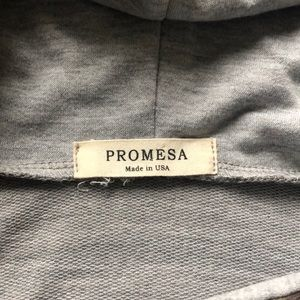 Promesa Sweaters - Camo Zip Hooded Sweater